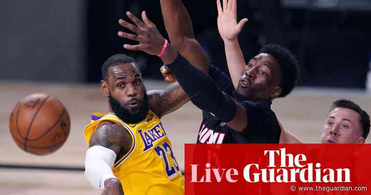NBA finals 2020 Game 1: Miami Heat 98-116 Los Angeles Lakers – live!