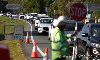Queensland border will be closed to huge swathes of NSW for at least another MONTH