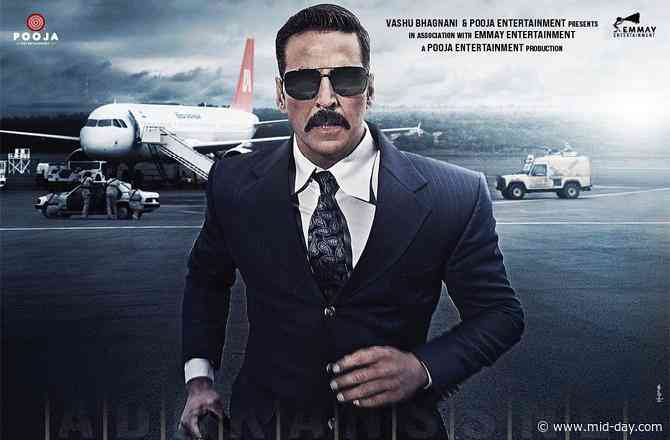 Akshay Kumar shows off his suave side in the recent Bellbottom poster