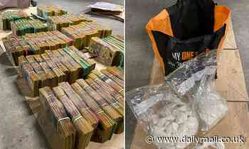 Cops uncover HUGE haul of $2.5million in cash and kilos of cocaine in Sydney's CBD