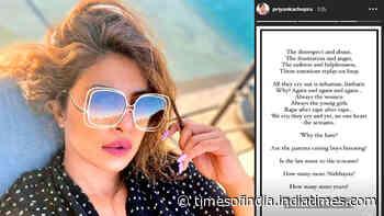 Hathras gang-rape: Priyanka Chopra Jonas demands justice and asks 'How many more Nirbhayas?'