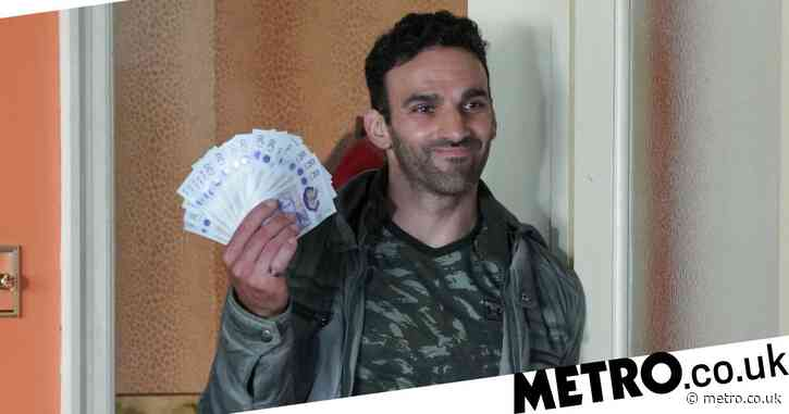 EastEnders spoilers: Huge gambling story revealed for Kush Kazemi