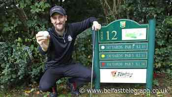 Fairway to heaven: Belfast golfer Matt Welsh sinks two holes-in-one in same round