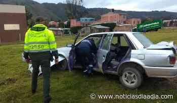 Un lesionado deja choque en Gachancipá, Cundinamarca - Noticias Día a Día