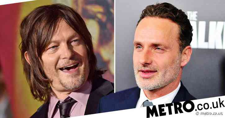The Walking Dead's Andrew Lincoln refuses to tell Norman Reedus if he'll return in final season