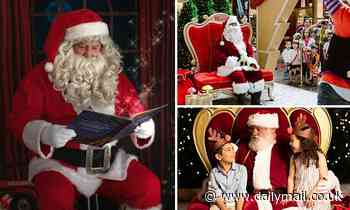 Coronavirus pandemic could leave Australian families without annual Santa photos