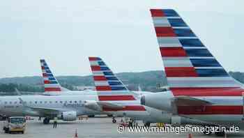 American und United Airline: US-Fluggesellschaften bauen zehntausende Jobs ab