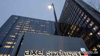 Millionenbetrug bei Axel Springer: Kriminelle Bande um Ex-Manager in Berlin angeklagt