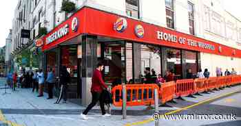 Burger King preparing to close UK branches after boss warns of 1,600 job cuts