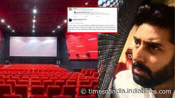 Abhishek Bachchan's ideal reply to a troll who called him 'jobless' after Junior Bachchan expresses his excitement over reopening of cinema halls