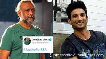 Anubhav Sinha backs #JusticeForSSR; netizens call out the sarcasm in his tweet