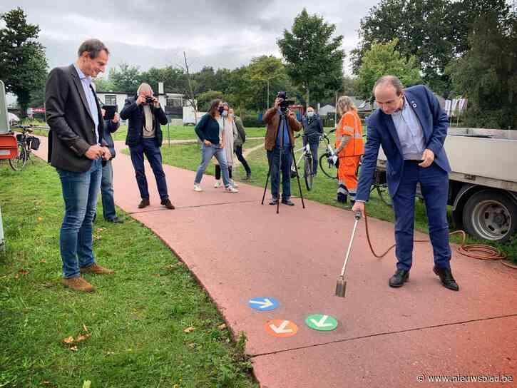 Fietsnet verbindt alle hoeken van Genk - Het Nieuwsblad