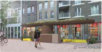 Nieuw ontwerp sluit trap ondergrondse parking af (Genk) - Het Belang van Limburg