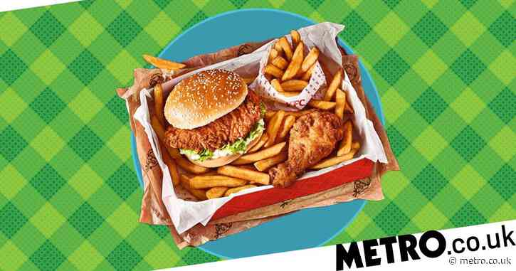 KFC's Wow Box is back and you can get a fillet burger, chicken and chips for just £3.50