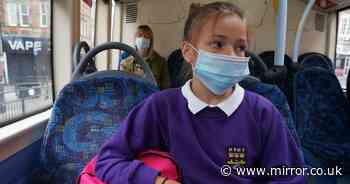 Bus company threatens to call police on pupils not wearing face masks on board