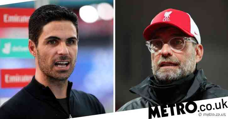 Liverpool manager Jurgen Klopp admits he 'loves' Mikel Arteta's Arsenal squad