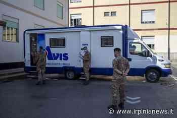 """FOTO / Avellino: carenza di sangue al """"Moscati"""", il 232° reggimento della Berardi si mobilita - Irpinia News"""