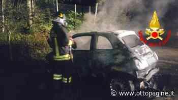 Auto in fiamme a San Potito, si indaga - Ottopagine
