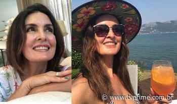 Sem descer do salto, Fátima Bernardes dá resposta lacradora à seguidora que a chamou de 'velha e ... - TV Prime