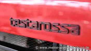 Ferrari 17 Jahre ungefahren am Straßenrand - verwahrloster Testarossa erstrahlt in neuem Glanz