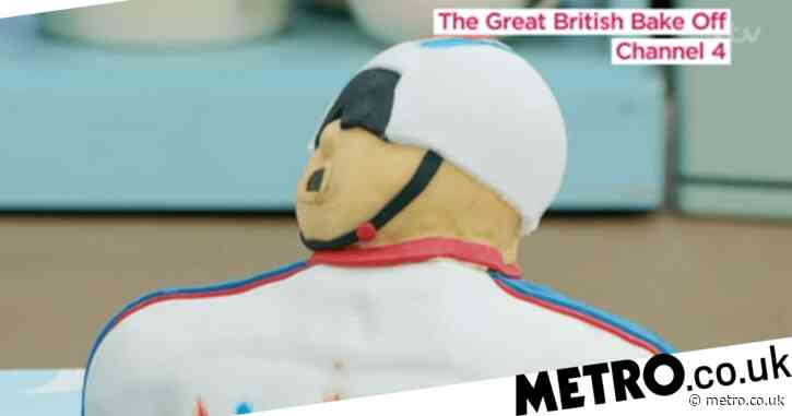Great British Bake Off 2020: Sir Chris Hoy reacts to Peter Hawkins' epic cake tribute