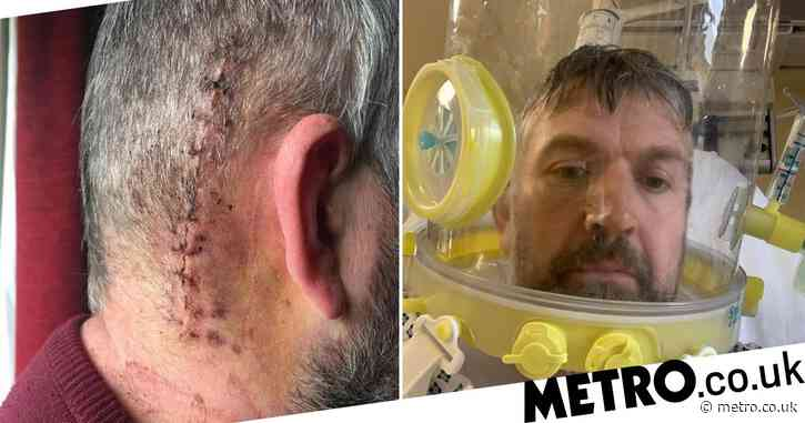 Dad who went to get tumour removed ended up in intensive care with coronavirus