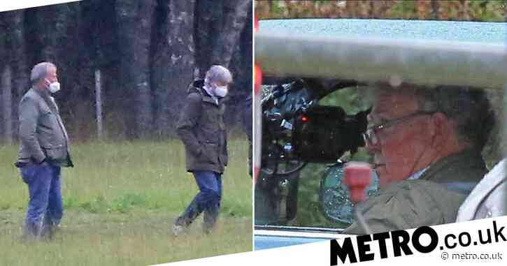 Jeremy Clarkson masks up as The Grand Tour returns to filming amid coronavirus pandemic