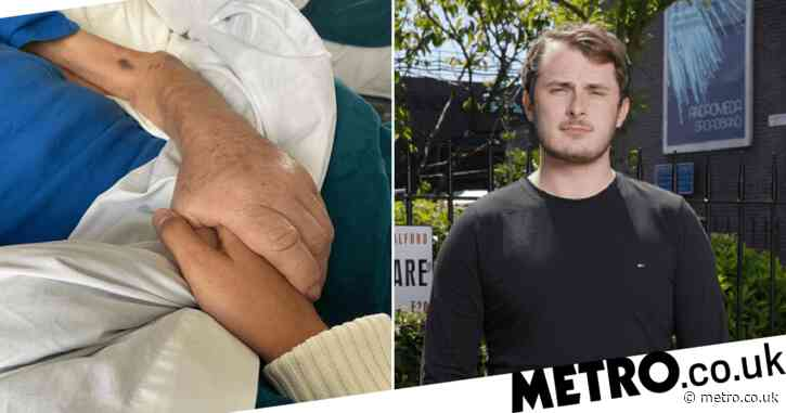 EastEnders star Max Bowden praises nurses as his grandfather dies after cancer battle