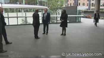 Sir Keir Starmer visits the Museum of London