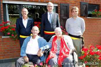Karel (86) en Noëlla (84) vieren briljanten huwelijk