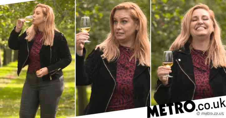Josie Gibson gets tipsy during Loose Women cider promotion and swallows a spider live on-air