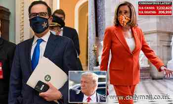 Nancy Pelosi and Steve Mnuchin on verge of $2 trillion COVID-19 bailout deal after months of delay