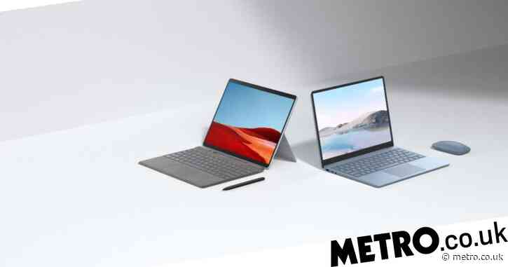 Microsoft unveils new Surface Laptop Go and updated Surface Pro X