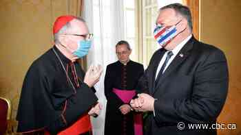 U.S. Secretary of State Mike Pompeo meets with Vatican officials, but not Pope Francis