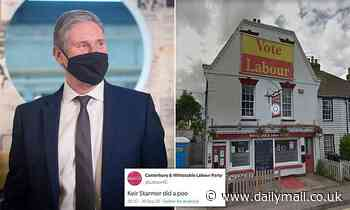 Labour party group forced to apologise for tweet saying leader Keir Starmer 'did a poo'