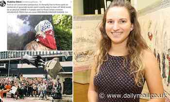 Museum curator who sparked fury for posting guide on vandalising statues 'forced out of job'