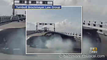 Driver Seen Doing Doughnuts On Bay Bridge Faces 27 Charges, MDTA Police Say - CBS Baltimore