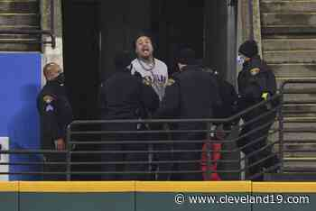 Two men escorted out of Cleveland Indians game by police - Cleveland 19 News