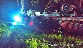 Lesionado en accidente de tránsito entre Villapinzón (Cundinamarca) y Tunja - Noticias Día a Día
