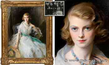 Lost portrait of glamorous Anglo-Irish socialite Oonagh Guinness, 21, sparks bidding war