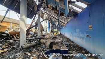 Millionenschaden: Bildungszentrum in Rieste niedergebrannt
