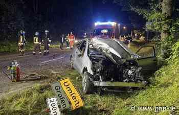 Mercedesfahrer (20) prallt gegen Baum: schwer verletzt - Grafenau - Passauer Neue Presse