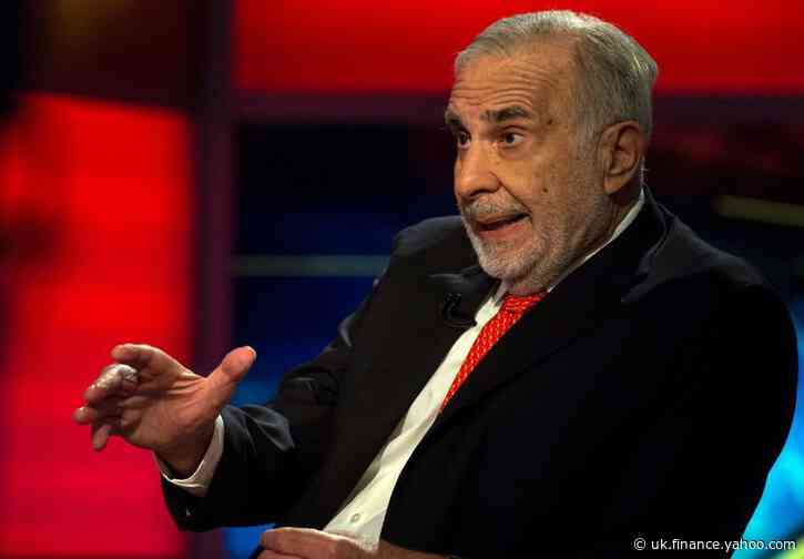 Activist investor Icahn brings son back, lays out succession plan
