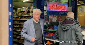 Police say Boris Johnson's dad Stanley won't be fined for shopping without mask