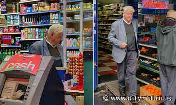 Police say Boris Johnson's father Stanley WON'T be fined after he was caught shopping without a mask