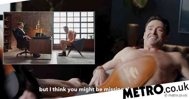 Hugh Jackman strips off to nothing but a pair of boots for new advert and it is quite something
