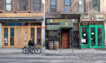 Half of NYC'S 24,000 bars and restaurants could close for good in the next six months