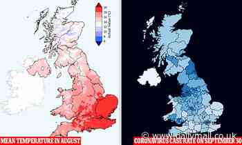 Why is the North and Scotland being hit so badly? Experts say it could be the weather
