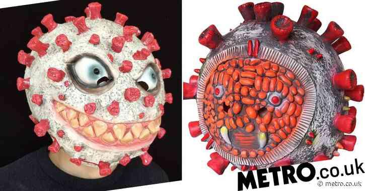 Amazon removes 'distasteful' coronavirus Halloween masks from sale