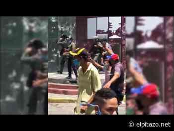 Yaracuy | Manifestantes causan destrozos en sede de la Alcaldía de Bruzual - El Pitazo